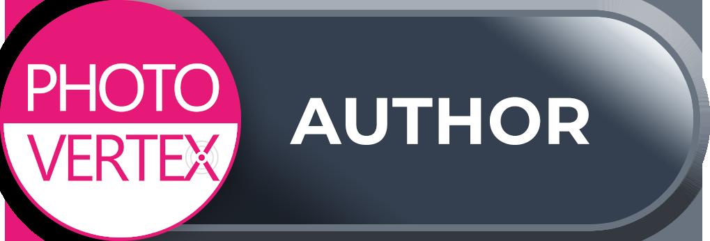 Author - website design example